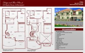 House Plan Layout Incredible Marla House Map Design Architecture Plans 73022 15