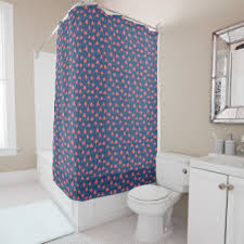 Salmon Colored Shower Curtain Salmon Shower Curtains Zazzle