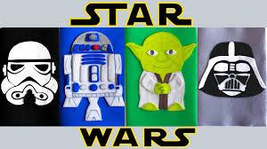 como forrar un cuaderno con tela youtube decora tus cuadernos de star wars manualidades con goma eva o foami