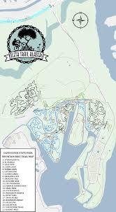 Florida State Parks Map by Park Info U2013 Oleta Trail Blazers