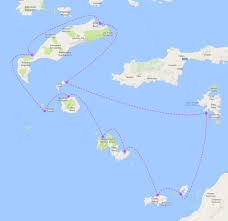 Kos Greece Map by Info And Booking Form