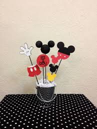 Mickey Mouse Center Pieces 101 Easy To Make Baby Shower Centerpieces