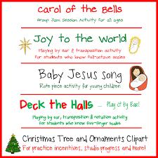Christmas Tree Songs Christmas Songs U0026 Activities Pack