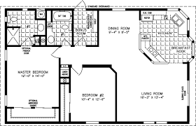 1000 sq ft floor plans the tnr 3422b manufactured home floor plan jacobsen homes