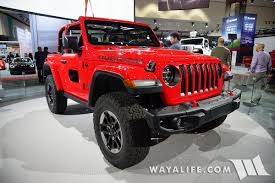 wrangler jeep 2 door 2017 la auto show jeep jl wrangler red rubicon 2 door