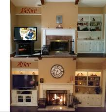 Free Standing Fireplace Screens by My Diy Fireplace Makeover Tiled Over Brick Face And Hearth