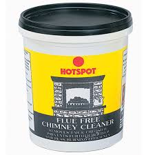 hotspot flue free chimney cleaner 500ml tub fireplace products