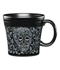 halloween coffee mug fiesta halloween skull u0026 vine tapered mug dillards