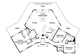Modern Floor Plans For Homes Contemporary House Plans Forsythia 10 426 Associated Designs