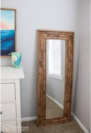 Cheap Paneling by Upgrade Cheap Mirrors With These 13 Projects Tiphero