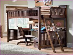 Bunk Bed With Desk Underneath Bunk Bed With Futon And Desk For - Queen bunk bed with desk