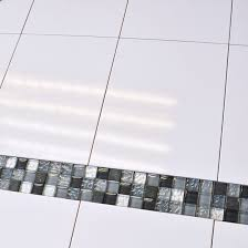 flat white gloss wall tile 5225 by kale ceramic planet