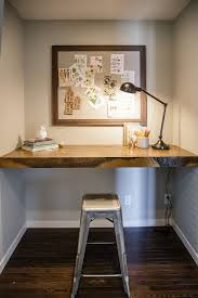 Built In Office Desk Interior Built In Desk Floating Cool Home Office Interior Stock