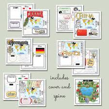 Map Of Epcot World Showcase Digital Epcot World Showcase Printable Passport