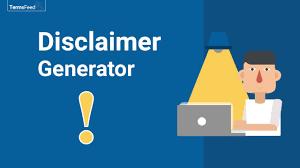 disclaimer generator termsfeed