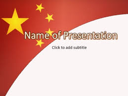 chinese themed powerpoint template china powerpoint template ppt