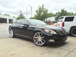 lexus wheels ls 460 lexus ls460 with blaque diamond wheels no limit inc