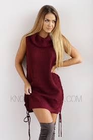maroon sweater dress sweater dress knowstyle