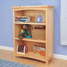Natural Wood Bookcase Mckenzie Natural Bookcase