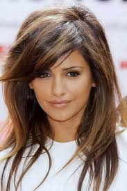 brunette hair color with blonde highlights pretty brunette