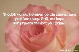 Words Of Comfort In Time Of Loss Comforting Quotes After The Death Of A Child Image Quotes At