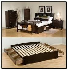 King Size Bed Frame Storage King Size Bed With Storage Slisports