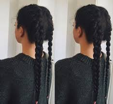 best 25 two french braids ideas on pinterest two dutch braids