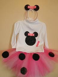 mouse tutu skirt shirt customize minnie ears headband