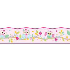 Frise Reine Des Neiges by Patchwork Owl Wallpaper Self Adhesive Border 5m Exclusive Design