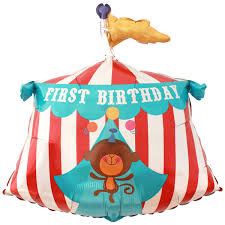 circus balloon fisher price circus tent 1st birthday supershape foil balloon