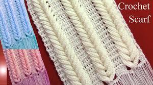 bufandas mis tejidos tejer en navidad manualidades navidenas bufanda bufanda chalina en punto espigas de trigo en relieve tejido a