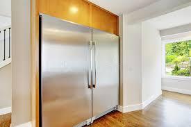 cuisine pour famille nombreuse grand réfrigérateur en acier pour une cuisine d élément de famille