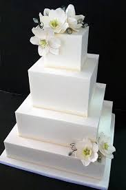 square wedding cakes best 25 ivory square wedding cakes ideas on pastel