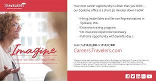 travelers careers images Travelers spokane washington insurance broker facebook