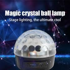 led disco ball light china 6 1w mini rgb led magic ball lighting dj disco light china