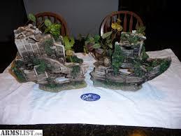 armslist for sale trade fish tank decor sunken ship wreck 2 pc