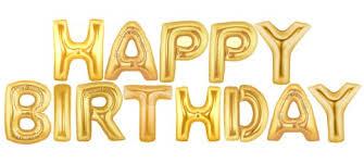 happy birthday letter foil balloon 1set supplies malaysia