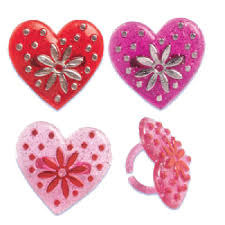 valentine cupcake rings and cake tops candyland crafts