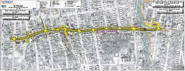 511 Org Traffic Map Tenth Street Improvements Roanoke