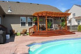 wood deck design deck construction virginia beach acdecks