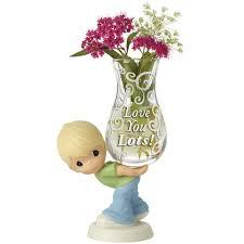 Bud Vase Arrangements Mother U0027s Day Gifts U201clove You Lots U201d Glass Bud Vase Bisque
