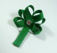 shamrock ribbon diy projects ribbon sculptures