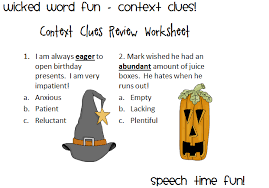 wicked word fun context clues