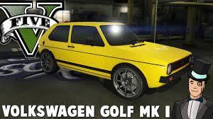 gta 5 mods volkswagen golf mk i vs 5 star cop chase gta v pc