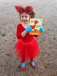 Lorax Halloween Costume Dr Seuss Theme Book Week Costumes Fish Fish Red Fish
