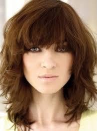medium shag hairstyles for women
