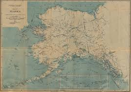 Alaska Route Map by