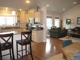 kitchen living room dining room open floor plan grampus