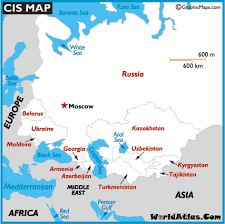 map of europe russia and the independent republics cis map of the commonwealth of independent states map history