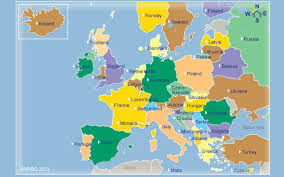 netherlands location in europe map what are the 7 continents from to smallest